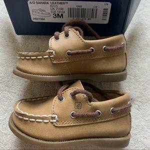 3 Mo Baby Sperry Top-Sider Unisex Boat Shoe
